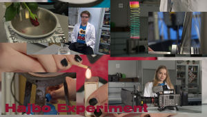 olika experiment