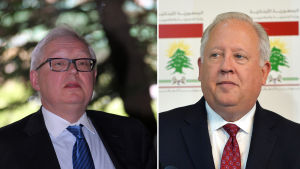 Rysslands vice utrikesminister Sergej Rjabkov och USA:s vice utrikesminister Thomas Shannon