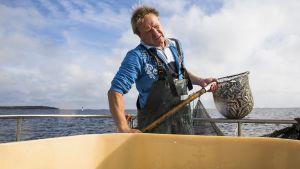 Fiskare Jörgen Kjellgren.