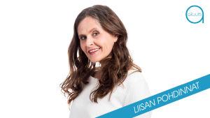 Toimittaja Liisa Vihmanen.