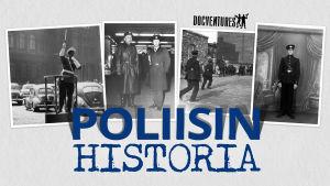 Valokuvia ja teksti: Poliisin historia