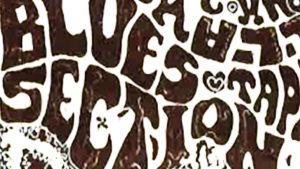 Blues Section -teksti Stump-lehden joulushow'n mainoksessa 1967.