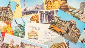 Neuvostoliitto-aiheisia postikortteja