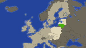 Karttakuva Liettuasta