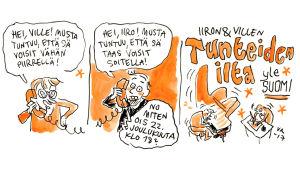 Iiro Rantalan ja Ville Rannan Tunteiden ilta 22.12.2917
