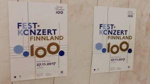 Juliste Berliinin Filharmoniassa 27.11.2017.