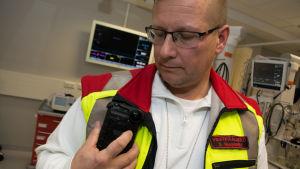 Fältkameran kan bli det senaste verktyget inom akutvården i Finland.
