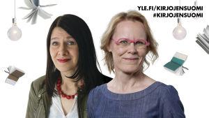 Riina Katajavuori ja Salla Savolainen