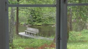 utsikt från runebergs stuga