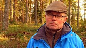 Raseborgs skogsbruksingenjör Carl-Johan Jansson.
