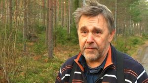 Skogsmaskinsentreprenör Magnus Träskman.