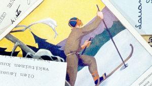 Vanhoja postikortteja ja kirjeitä