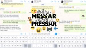 Logo för Prillan messar wannabe pressar.