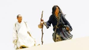 Jet Li ja Jackie Chan kung-fu-elokuvassa