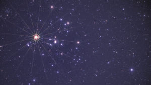 Stjärnor på stjärnhimmel