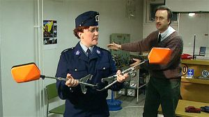 polis i humorprogram