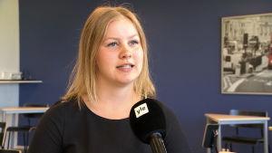 Christa Borgman, student, Sibbo gymnasium