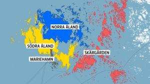 Kommunstruktur på Åland