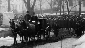 Leo Mechelinin hautajaiset