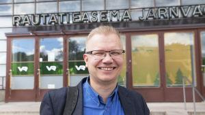Mikael Montonen, personalchef på it-företag.