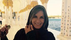 Isabella Bondestam i Dubai.