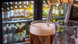 Ölstop på krog