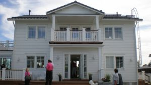 Heikius- Hus iv bostadsmässan i Karleby