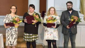 Vinnare i Solveig von Schoultz-tävlingen 2016.