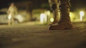 En soldats stövel