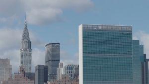 FN-skyskrapan i New York.