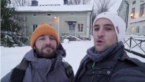 Vagabrothers videobloggar från Borgå