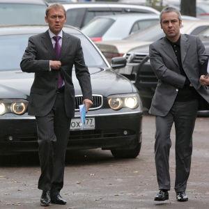 Andrej Lugovoj och Dmitri Kovtun