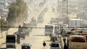 Den irakiska armén koncentrerar styrkor vid fronten i västra Mosul, där det fortfarande bor upp till 750 000 civila