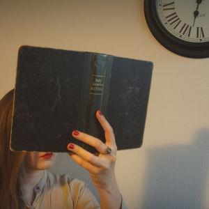 Orfeuksen kääntöpiiri -blogissa Sally Salmisen Katriina