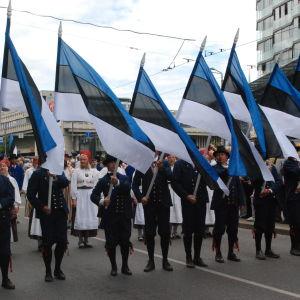 Sång- och dansfestivalen i Tallin den 4 juli 2009.