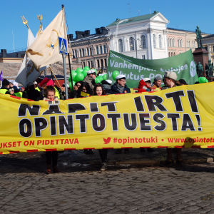 Studentdemonstration 20.03.2013.