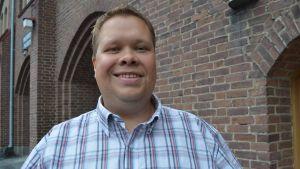 Sauli Isokoski vill bli en av Vänsterförbundets kandidater i riksdagsvalet 2015.