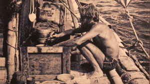 Thor Heyerdahl Kon-Tiki-lautalla 1947
