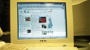 Ylen etusivu 22.5.2001.
