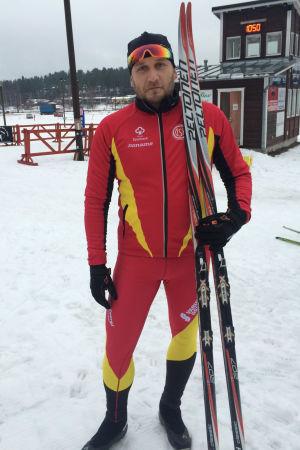 Conny Karlsson inför Vasaloppet 2016.