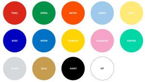 Helsingfors stads färger och vad de symboliserar.