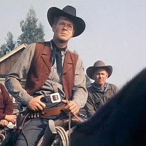 Dan Duryea elokuvassa Ratsastavat hurjat