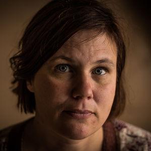Yle Östnylands reporter Carmela Walder