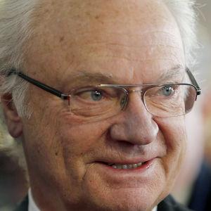 Kung Carl XVI Gustaf av Sverige.