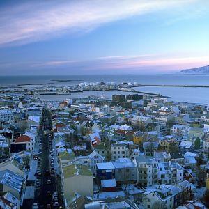 Reykjavik i februari 2003.