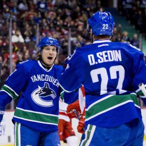 Markus Granlund gör mål i NHL.