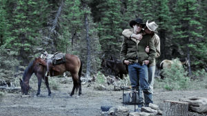 Jake Gyllenhaal ja Heath Ledger elokuvassa Brokeback Mountain