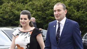 Islands president Guðni Thorlacius Jóhannesson och presidentfrun Eliza Reid besökte Finland den 14-17 maj.