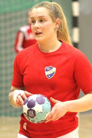 Petra Friman inför HIFK:s finalmatcher 2017.