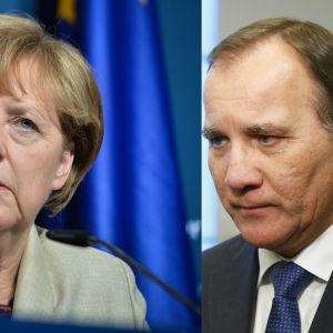 Angela Merkel och Stefan Löfven